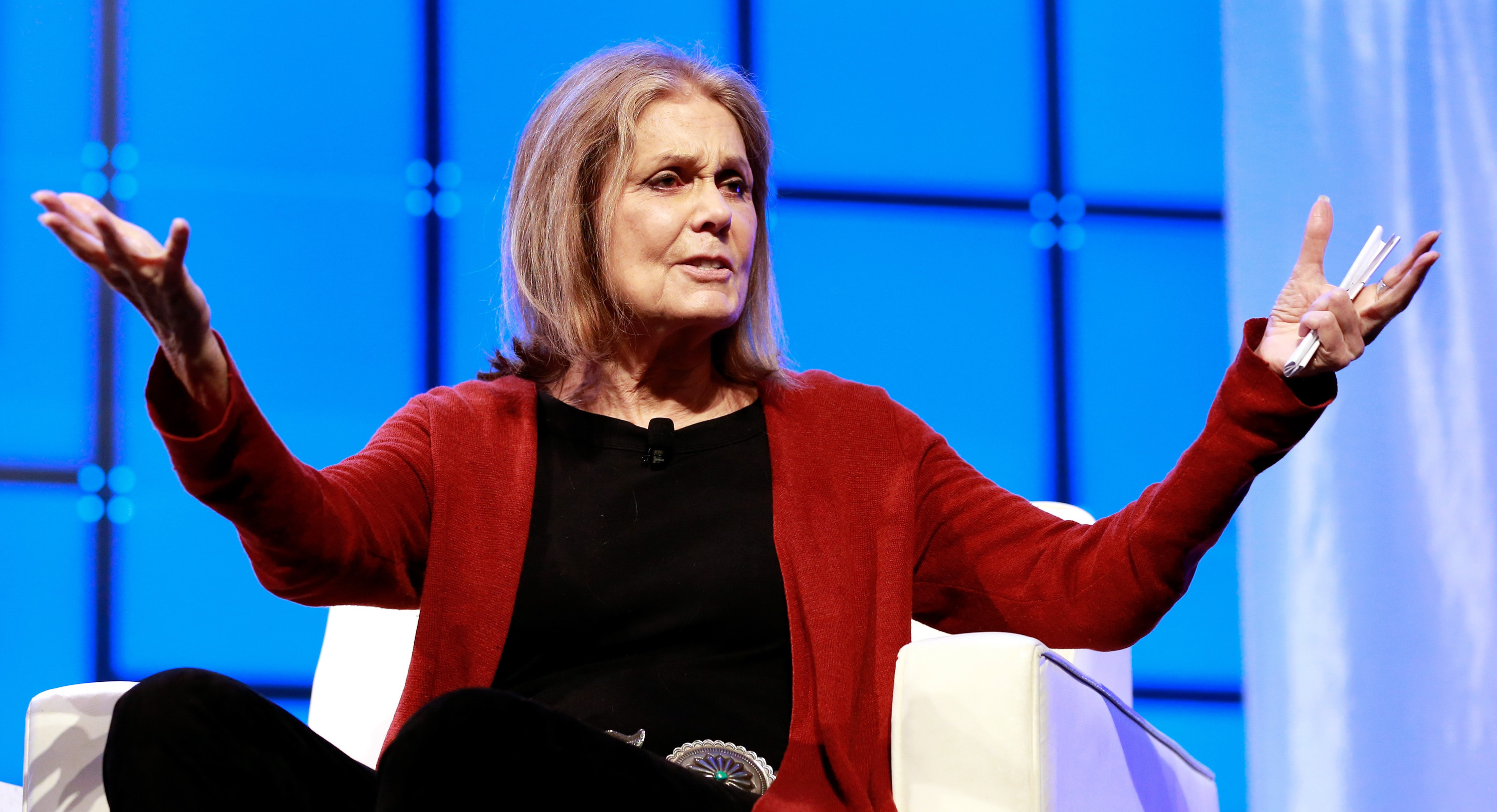 Gloria Steinem sets the record straight on black women's leadership.