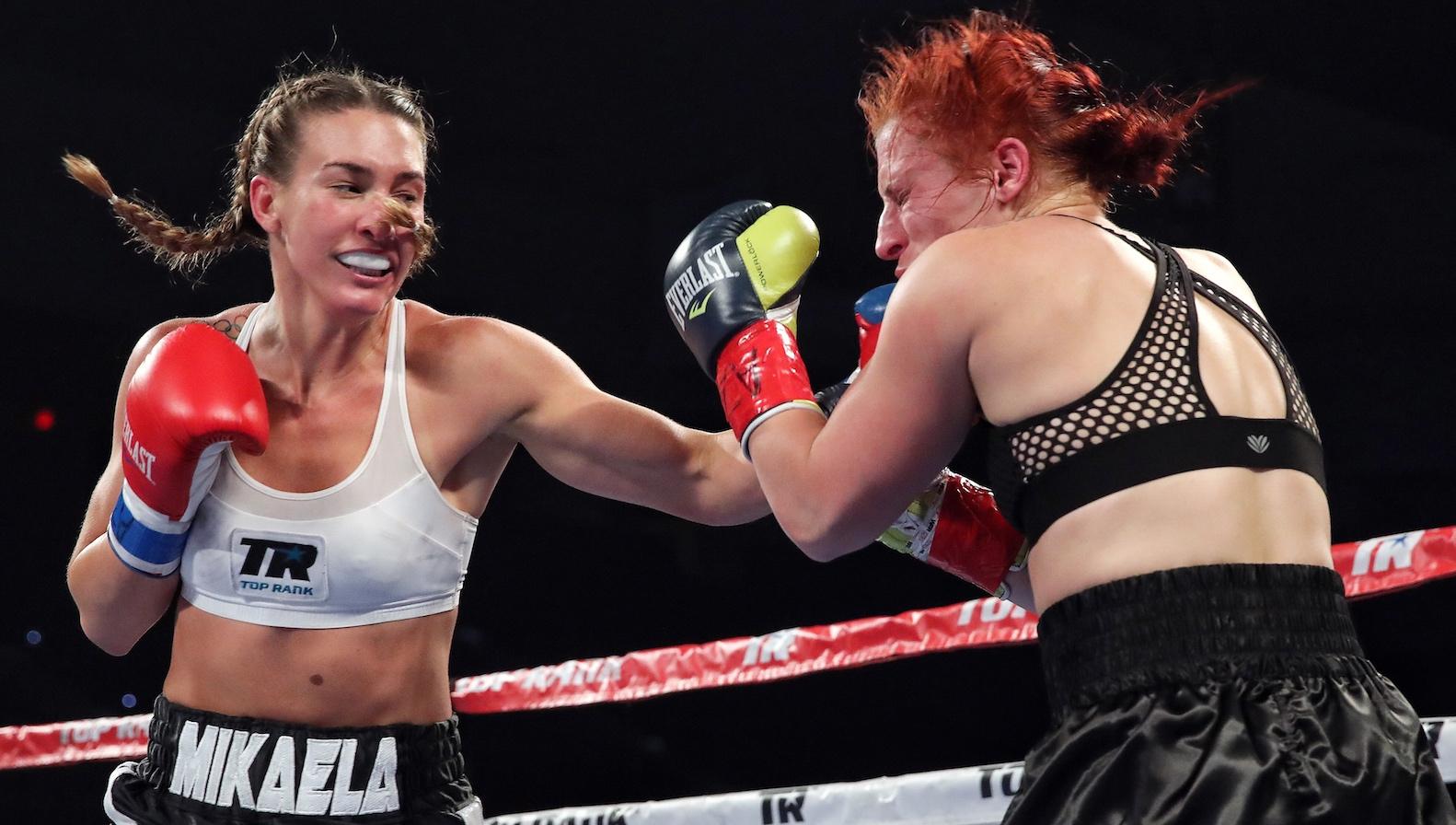 Women s boxing still needs a Ronda Rousey — Quartz