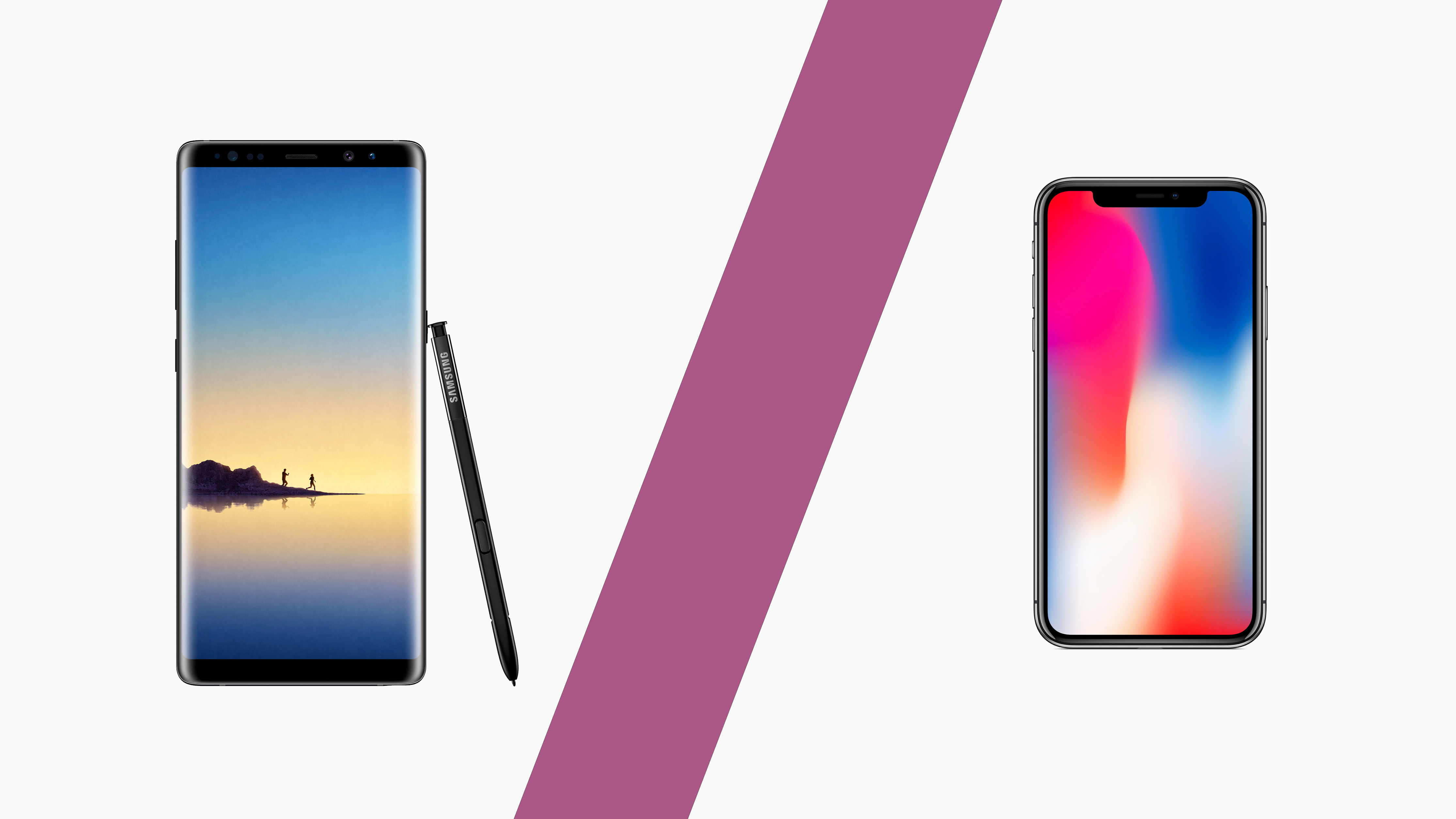 what s better samsung or iphone the samsung note 8 or the iphone x which phone is better 18224