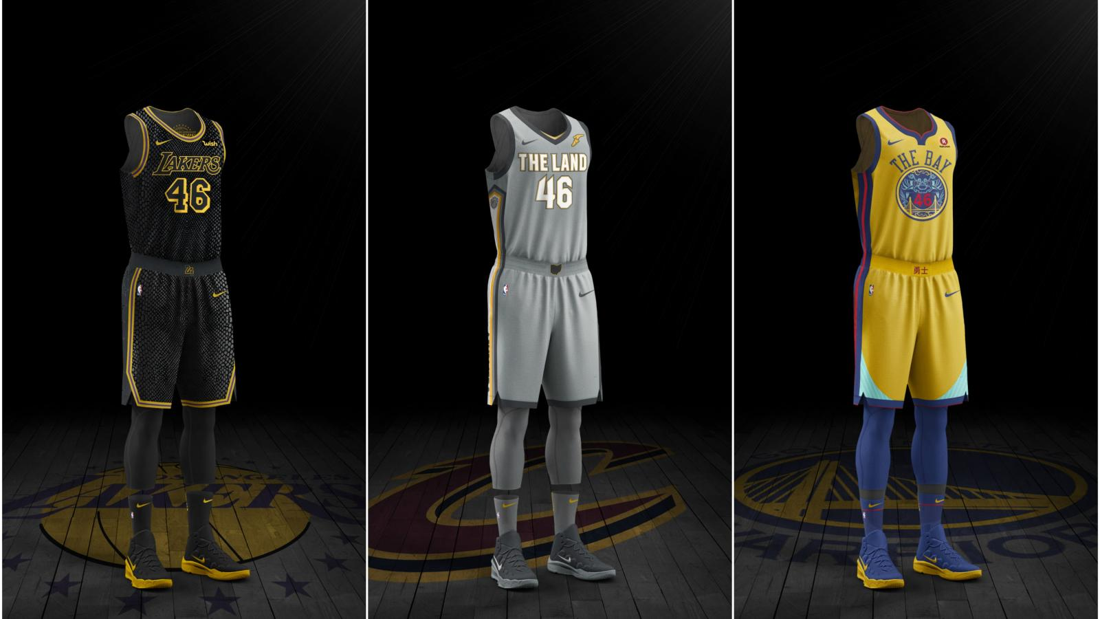 Nike's NBA City Edition jerseys: What