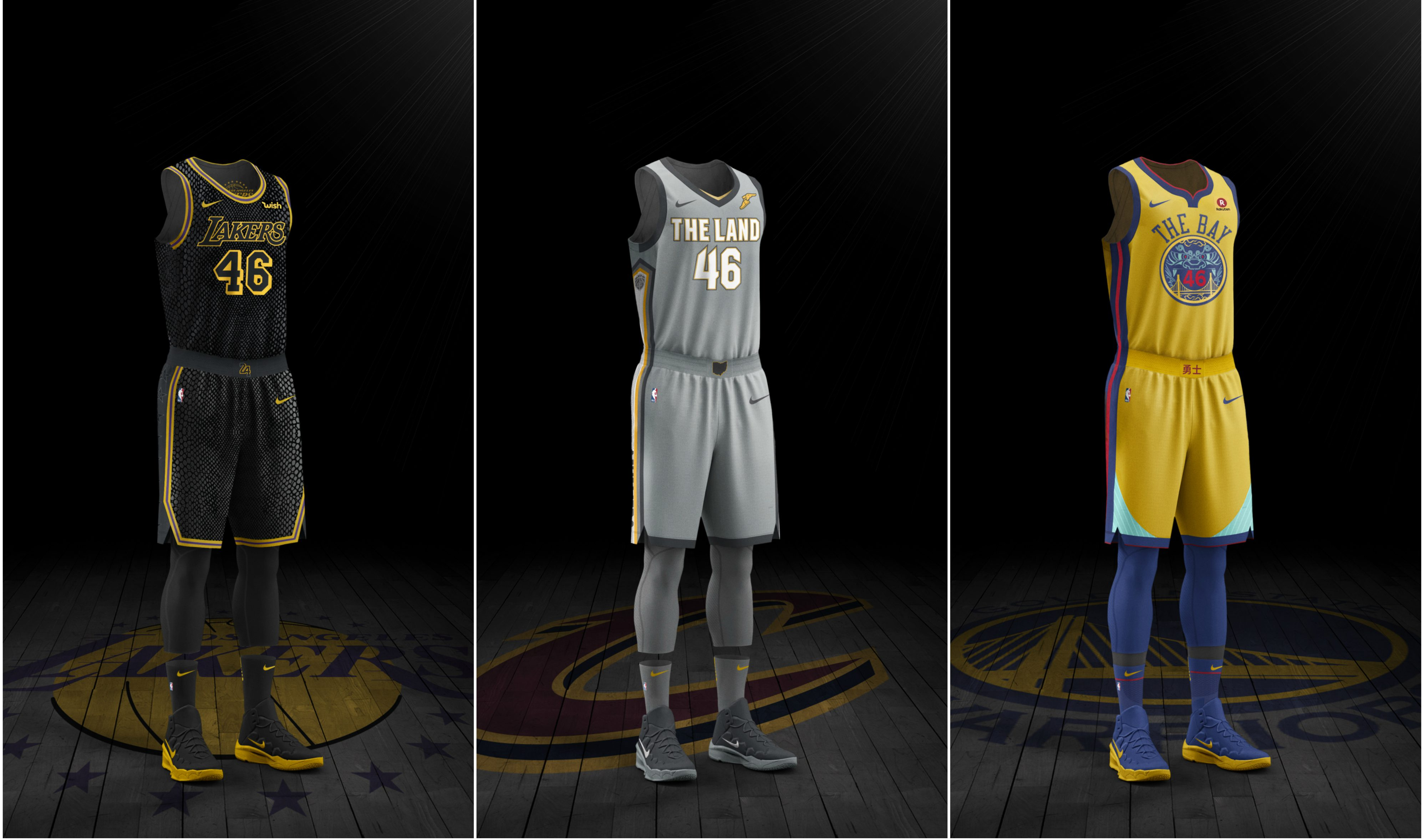 size 40 57fb4 a4659 Nike's NBA City Edition jerseys: What they say about your ...