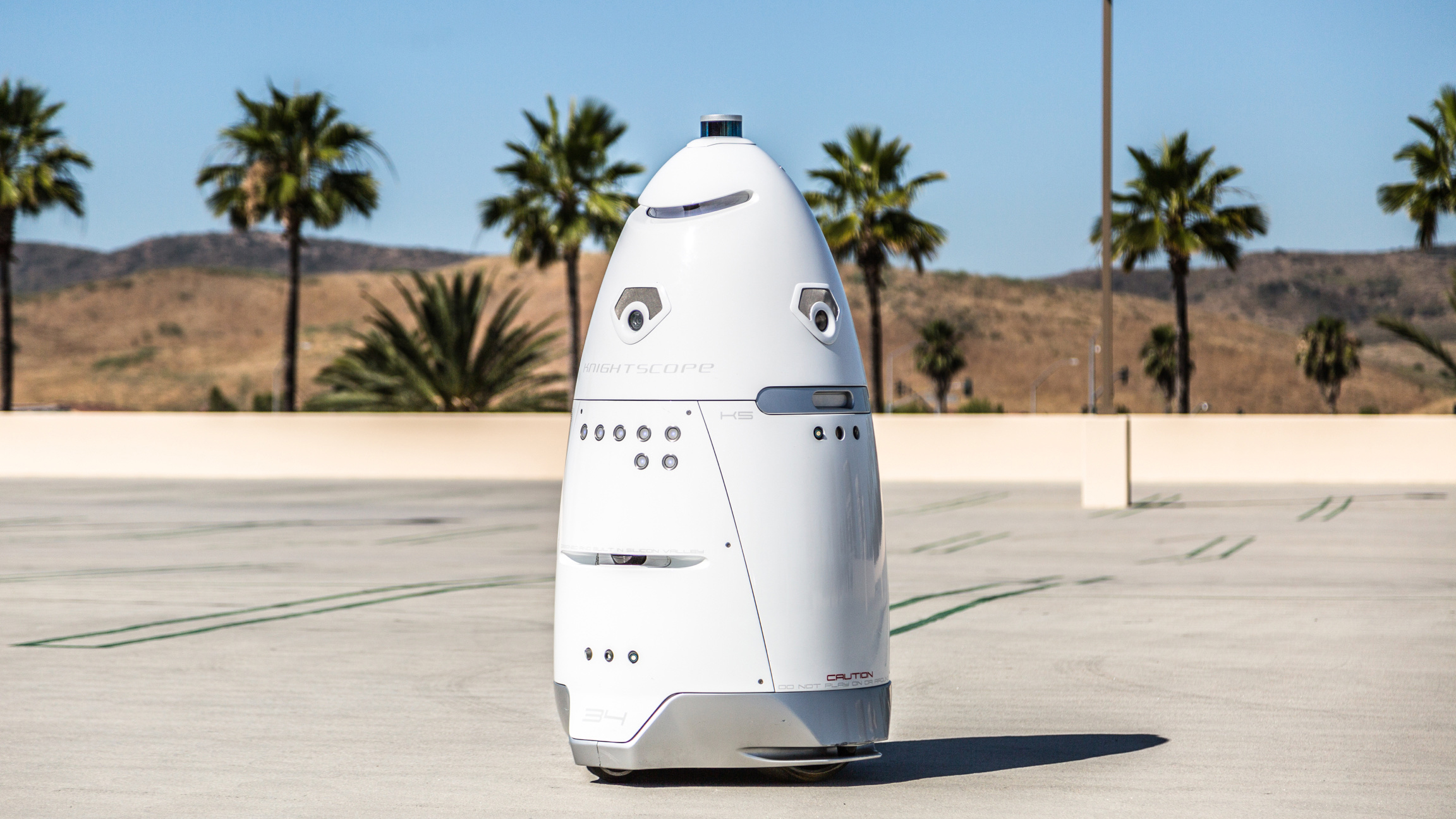 A Knightscope Security Robot Is Being Used To Shoo Away Homeless