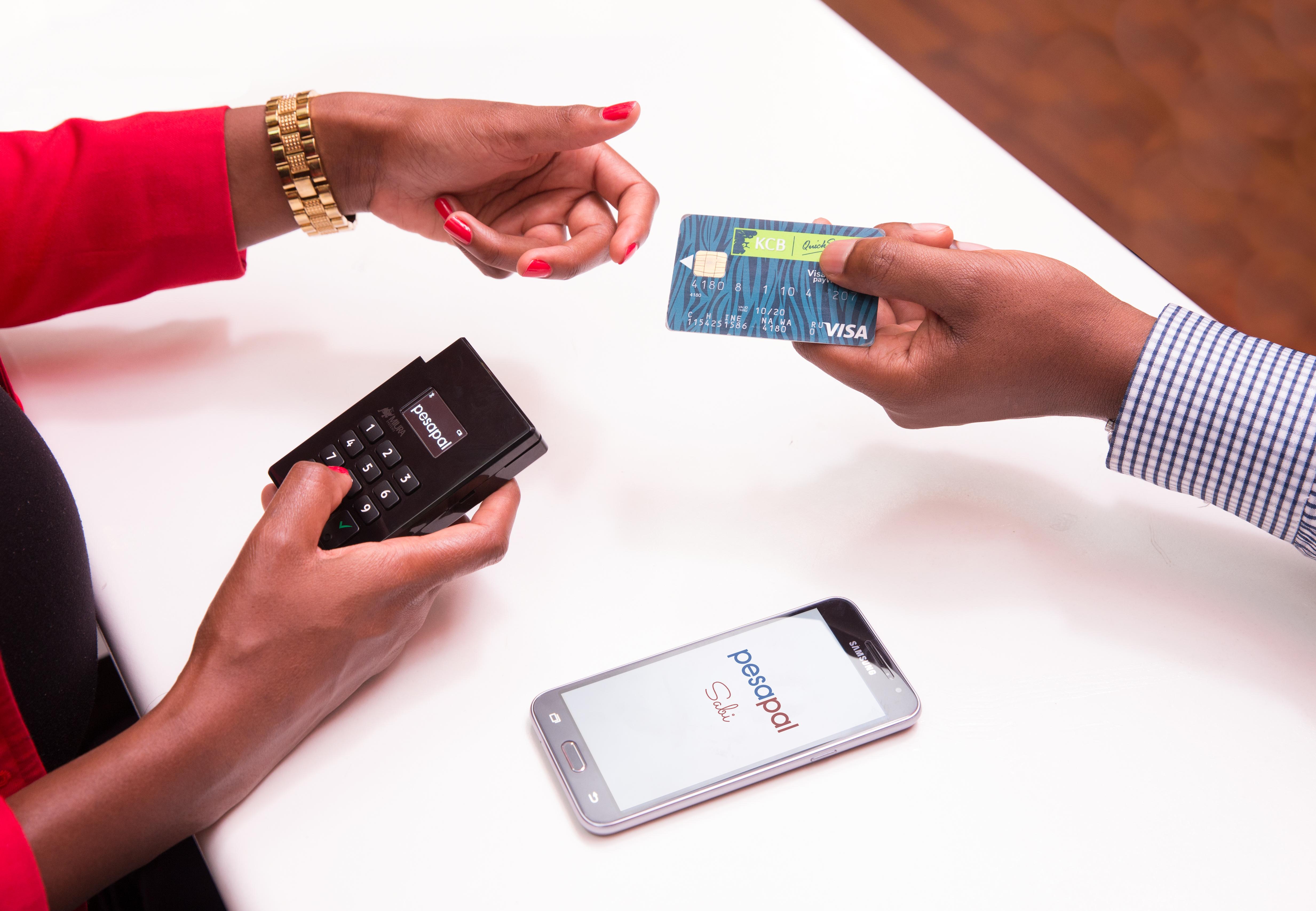 PesaPal's mobile point of sale, Sabi