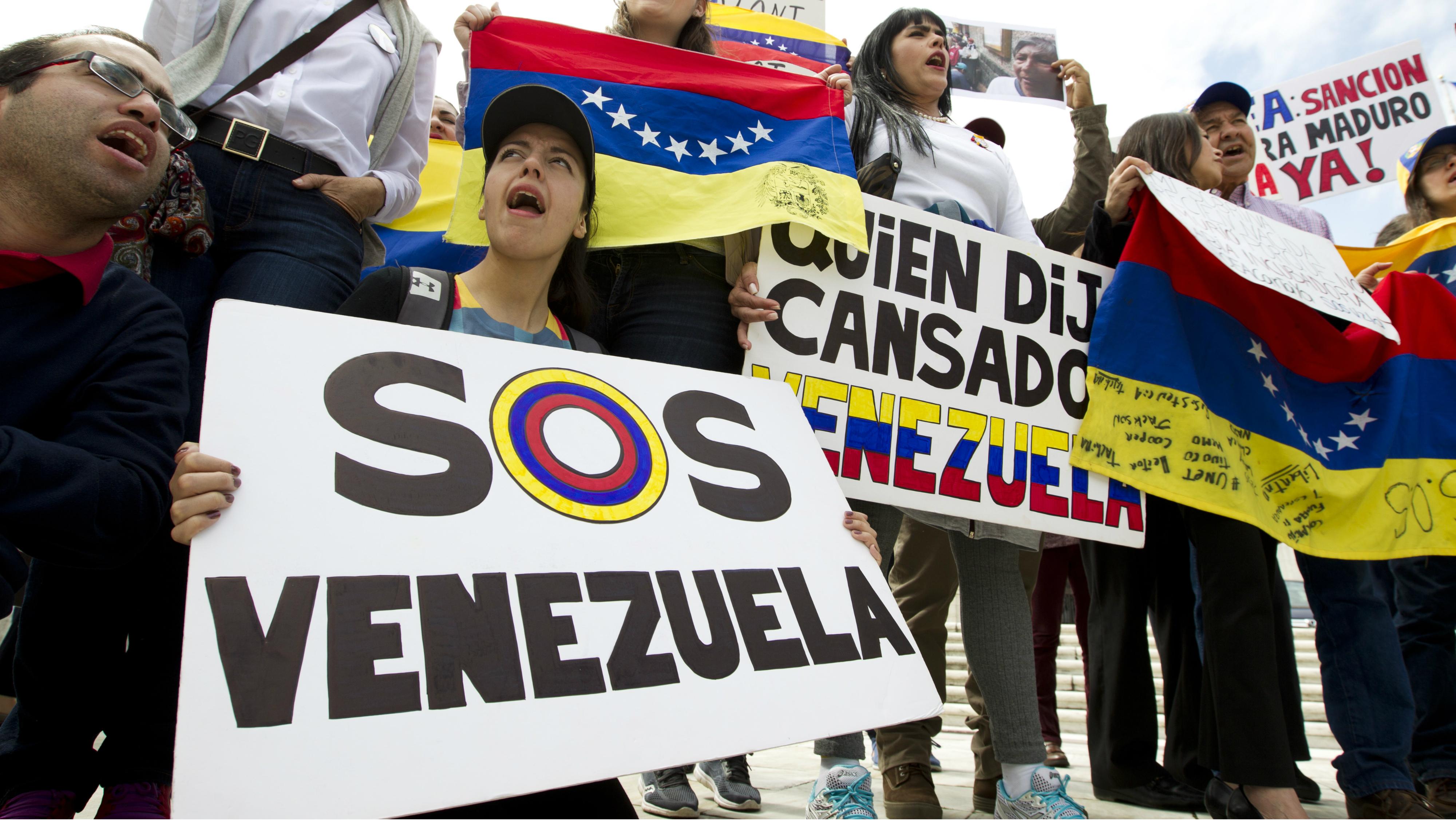 Venezuela is grappling with a 'pork revolution.'