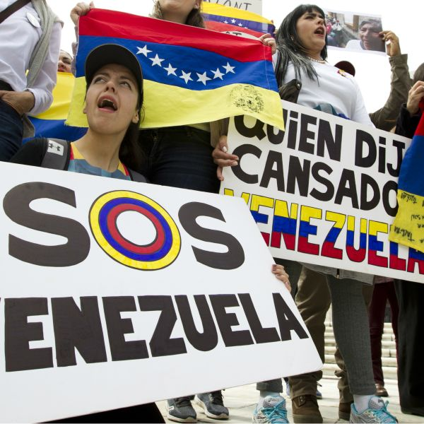 Venezuela is grappling with a 'pork revolution.'