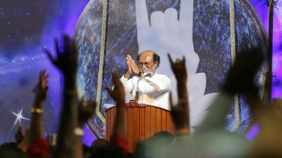 India-Politics-Cinema-Rajinikanth