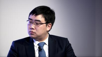 Founder and CEO of Didi Kuai, Cheng Wei attends a session at the World Economic Forum (WEF) in China's port city Dalian, September 10, 2015.