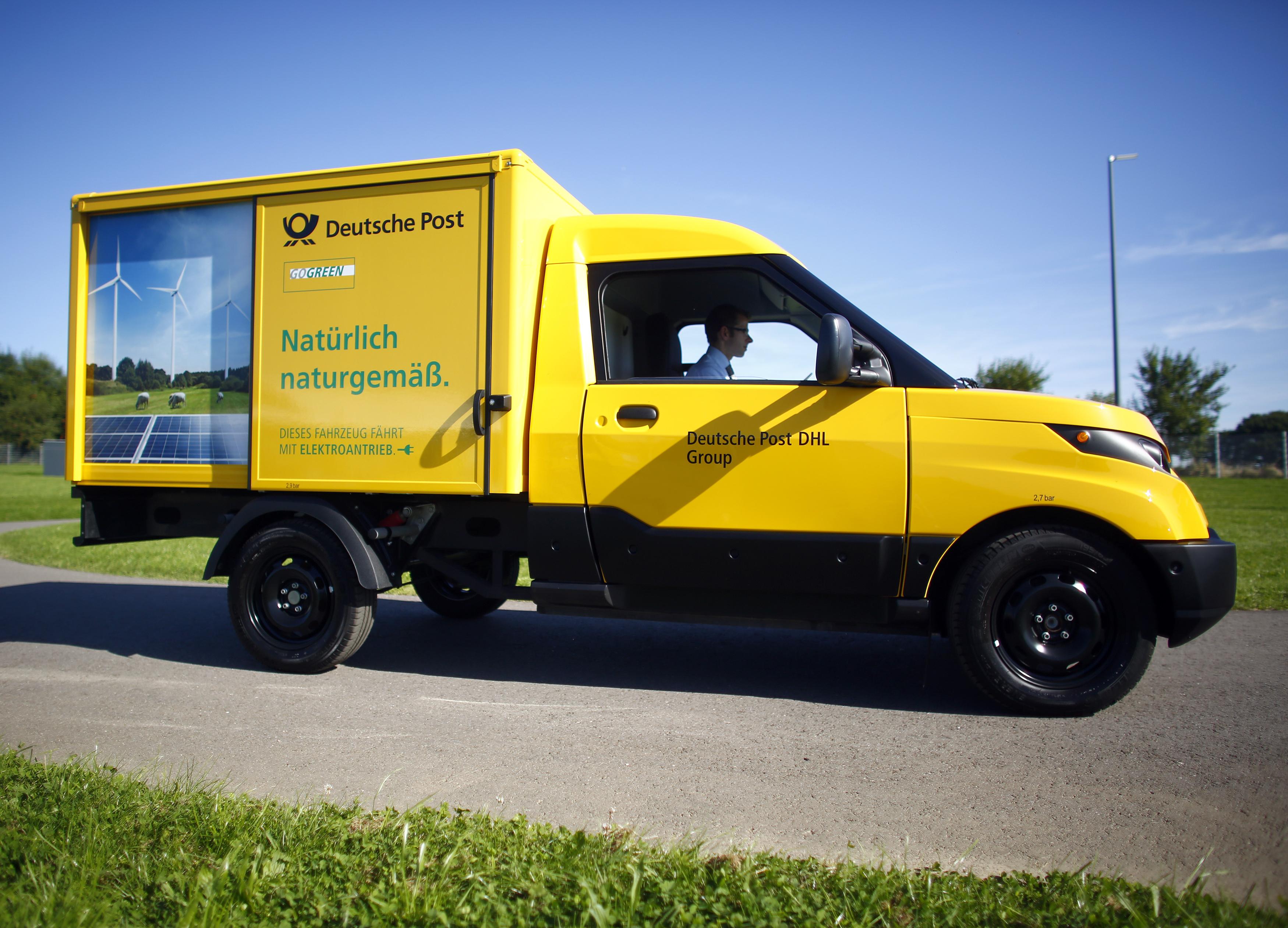 Deutsche Post has built its own electric trucks — Quartz