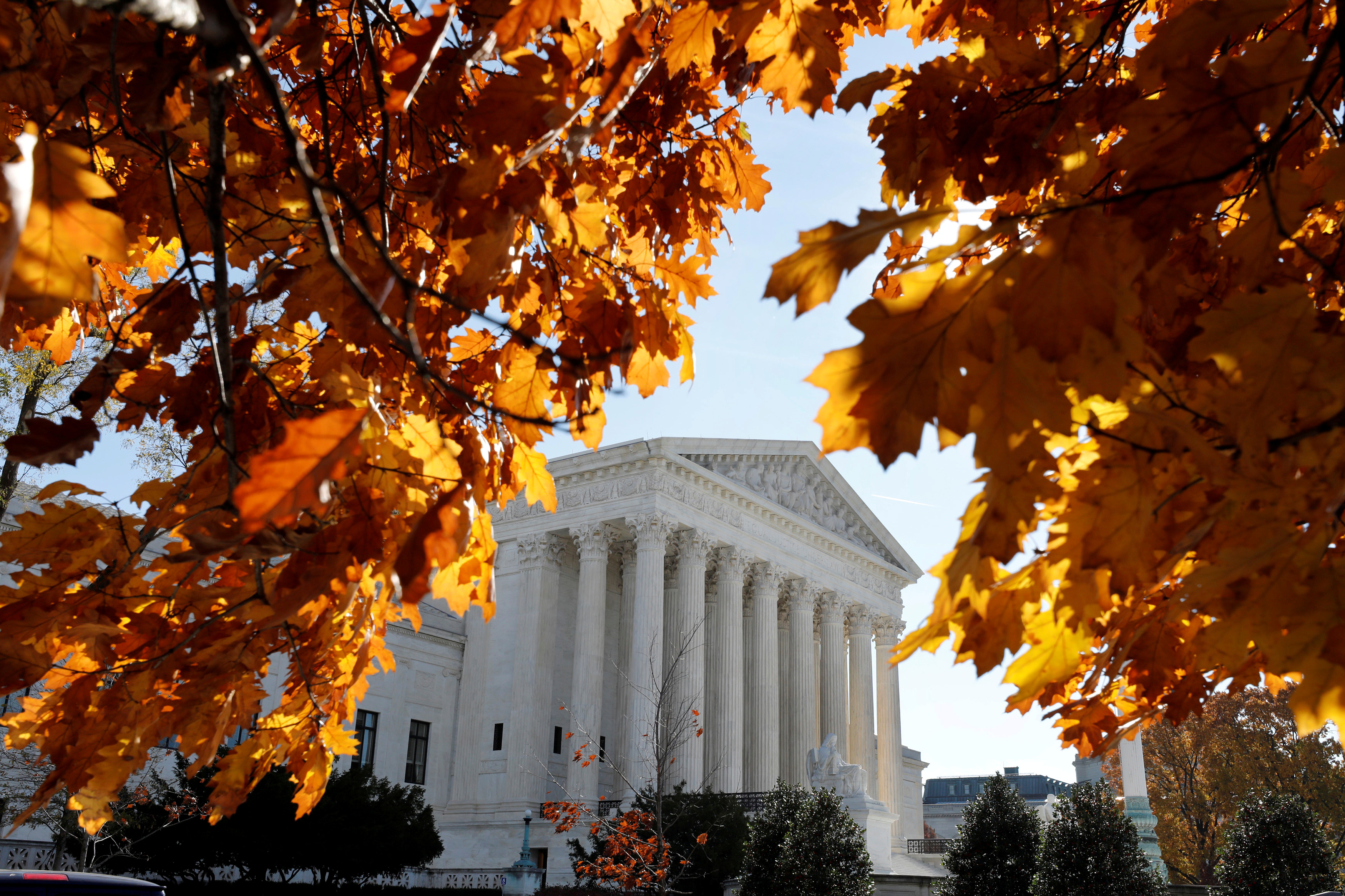 U.S. Supreme Court is seen in Washington, U.S., November 27, 2017.  REUTERS/Yuri Gripas - RC1D9677ECC0
