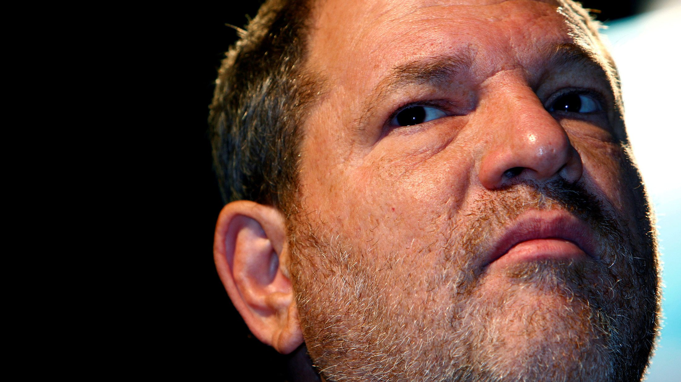FILE PHOTO: Harvey Weinstein attends the Middle East International Film Festival in Abu Dhabi on October 15, 2007.    REUTERS/Steve Crisp/File Photo - RC139D2B21B0