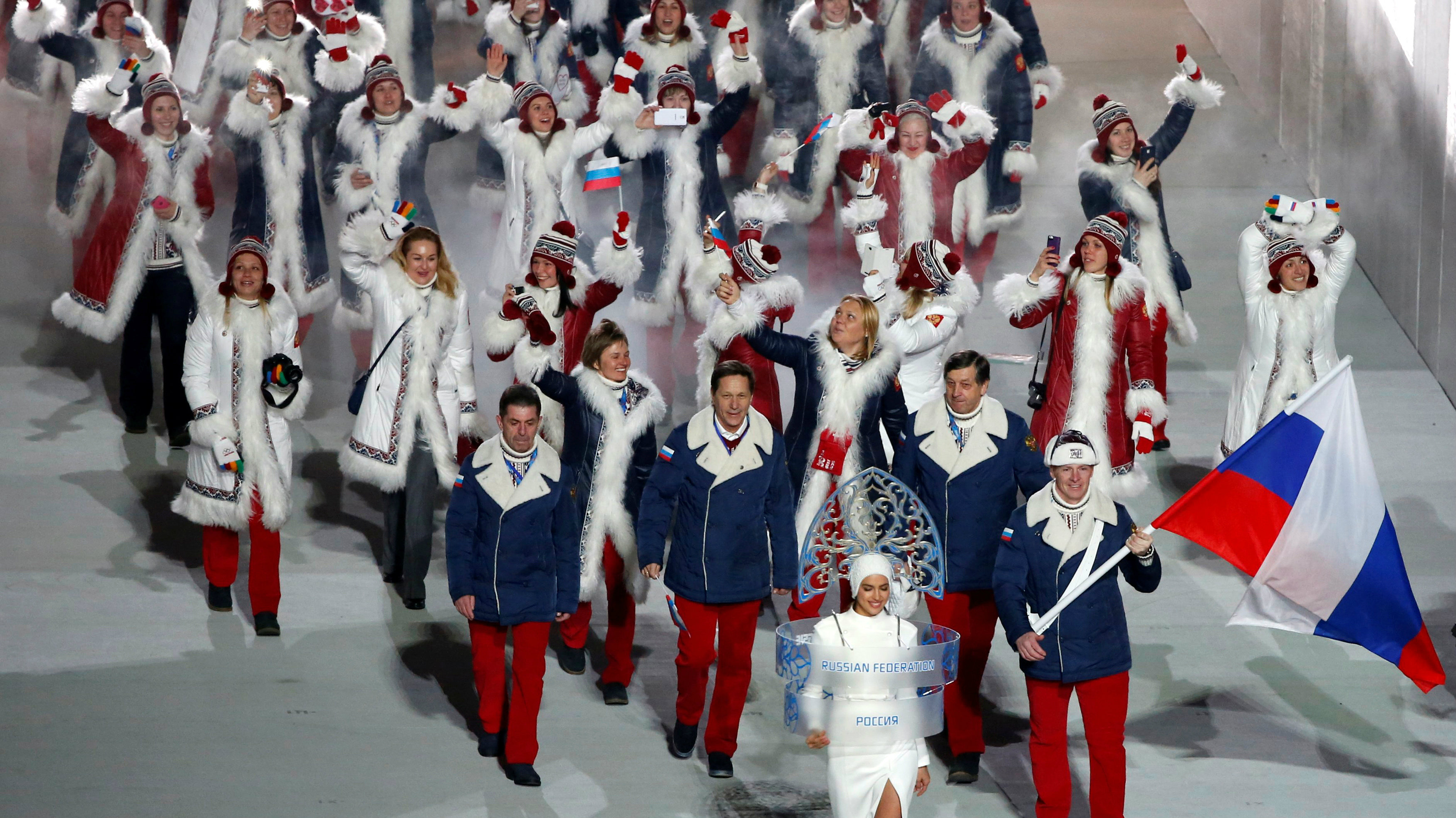 Only one Russian athlete is allowed to participate in the Olympics