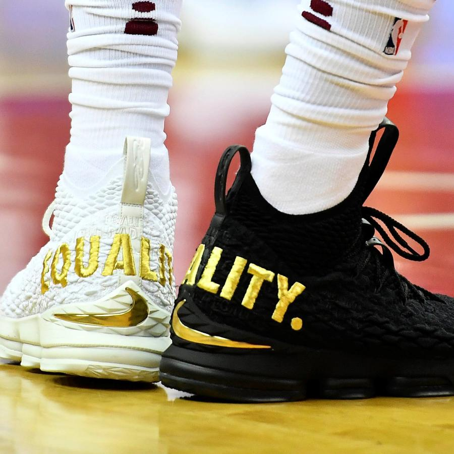The Meaning Of Lebron James Black And White Equality Sneakers Quartz