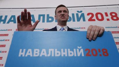 Navalny has been blocked from Russia's 2018 election.