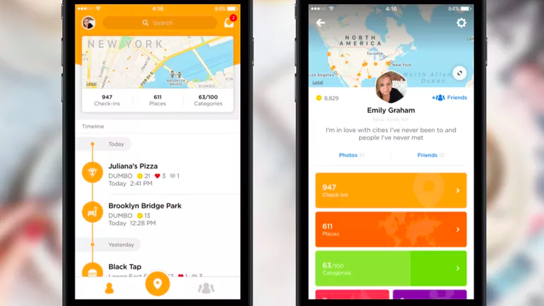 Foursquare Swarm is the only social network for being social — Quartzy