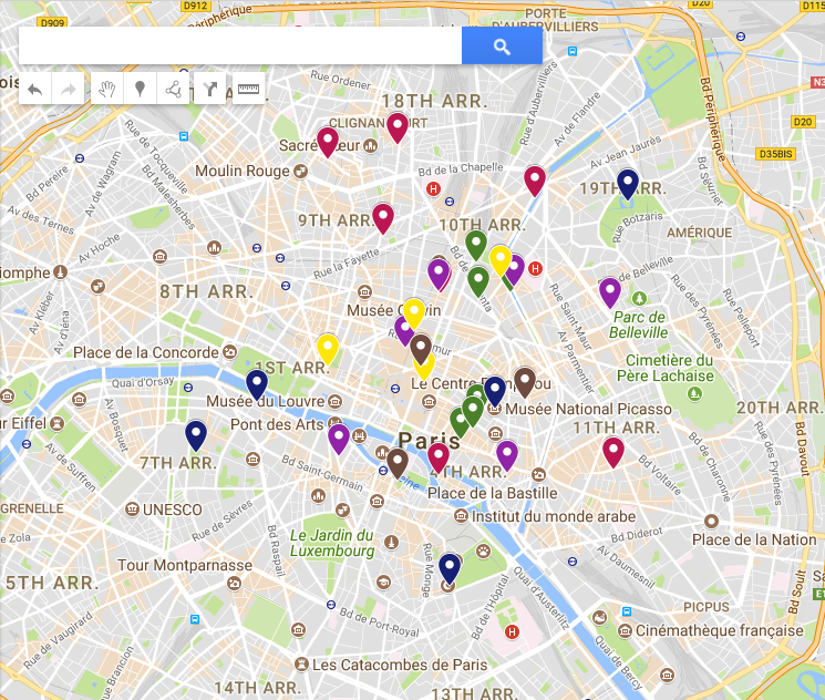 Awesome Google Maps Paris Ideas - Printable Map - New ...