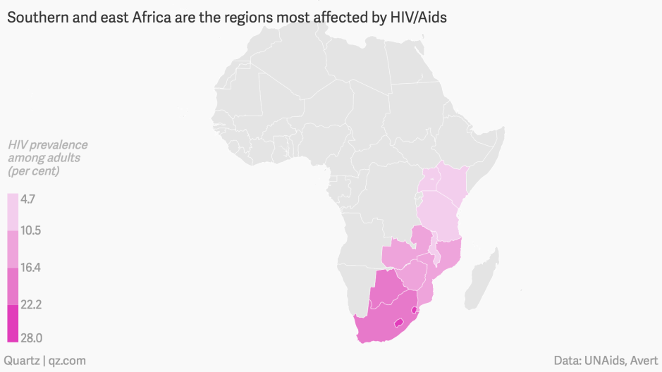 Aids Map Of Africa.Hiv Aids Statistics In Africa Nine Out Of Ten Adolescent Deaths Due