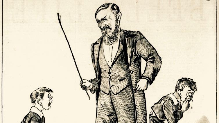 Queensland Figaro cartoon 1888.