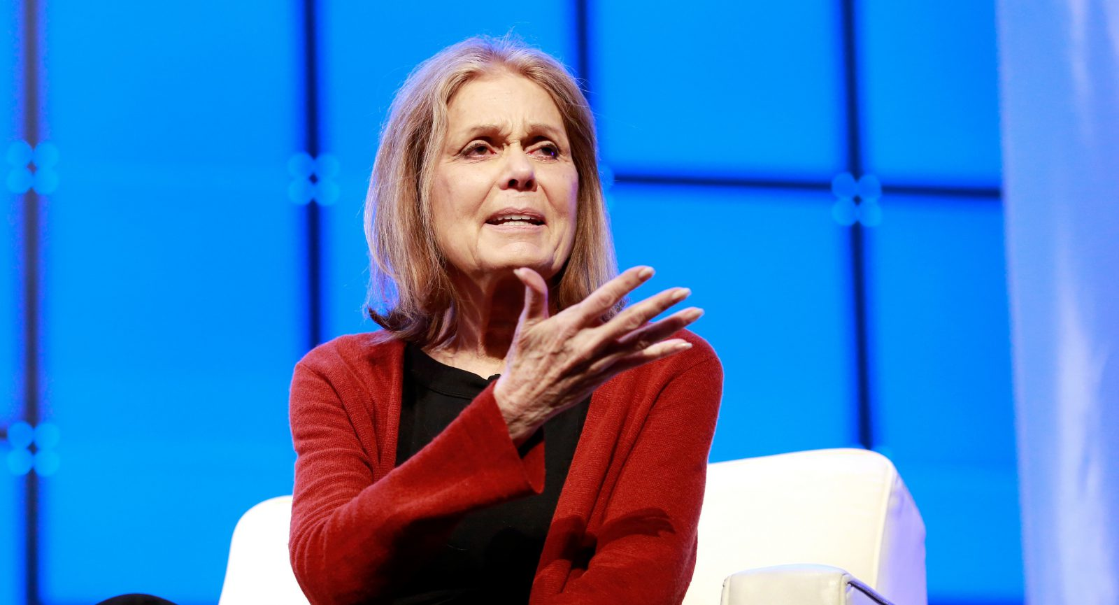 Steinem want's the harasser in-chief out, stat.