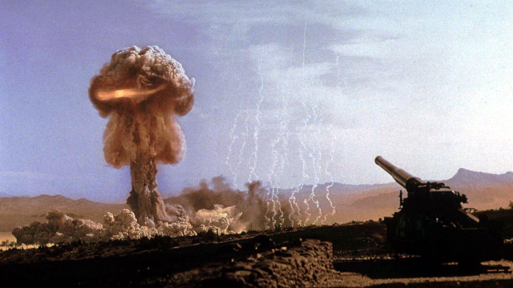 Radiometric dating atom bomb test