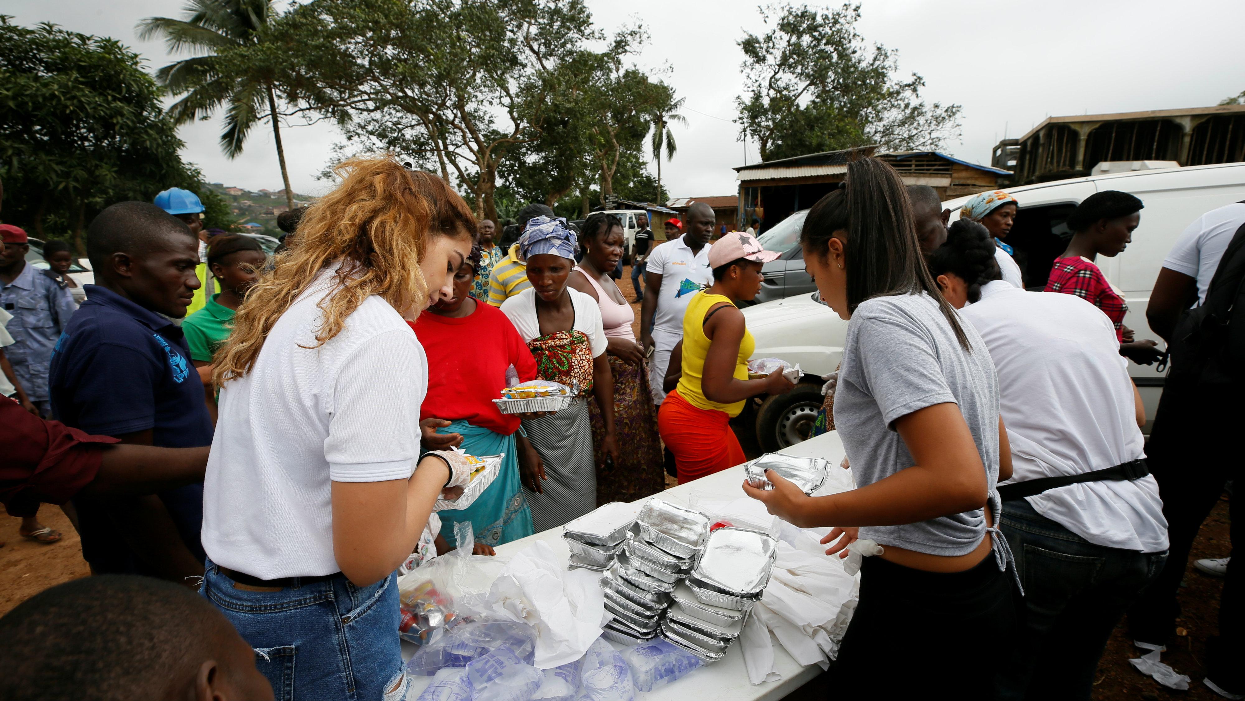 Africa NGO volunteers