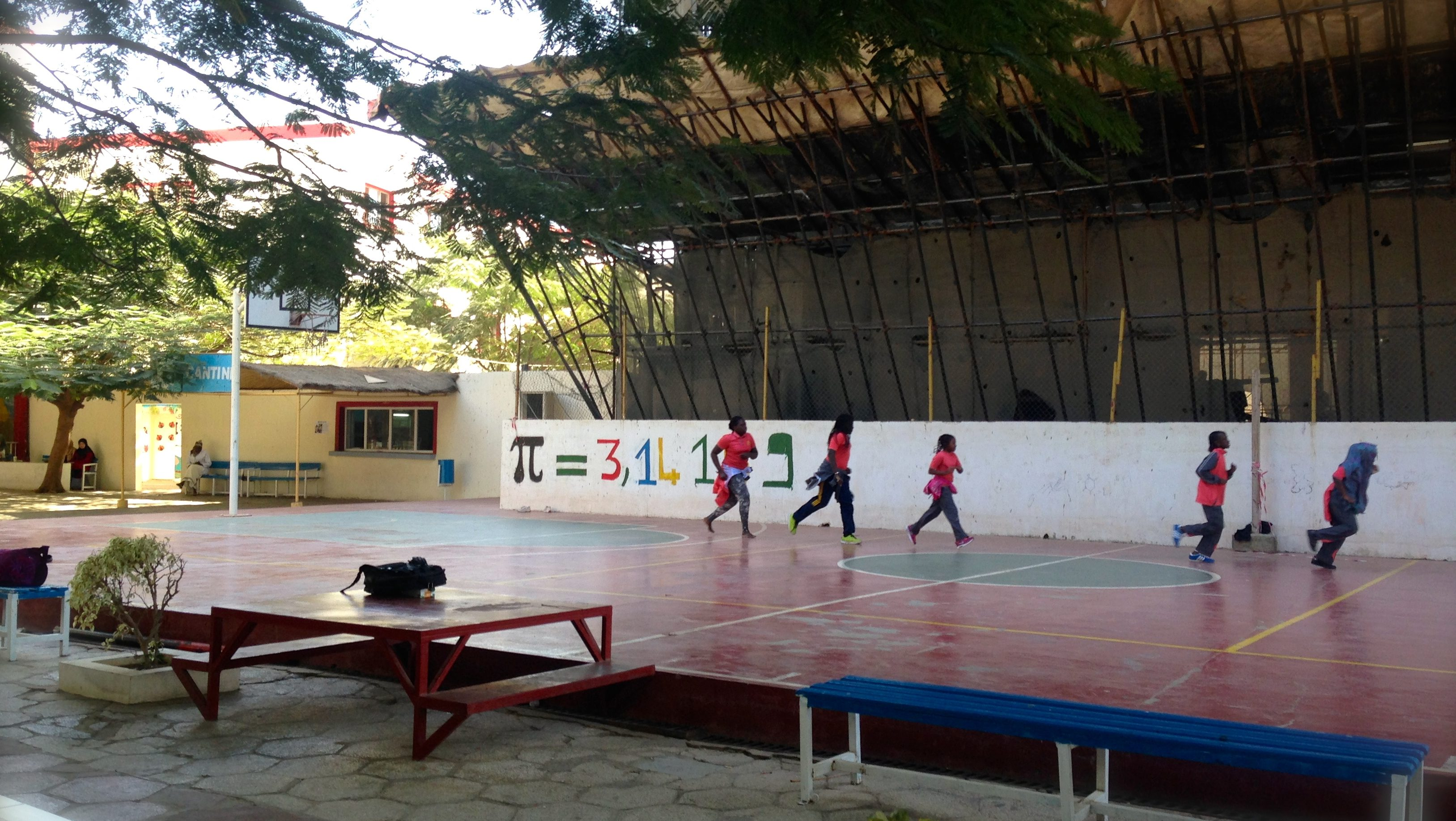 Collège Sultan, an all-girls school part of Yavuz Selim in Dakar.