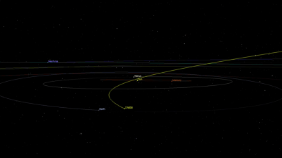 Will asteroid AJ129 hit the Earth? Take a look yourself — Quartz