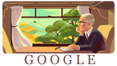 Google Doodle: Alan Paton, South African anti-apartheid author and activist, is honored