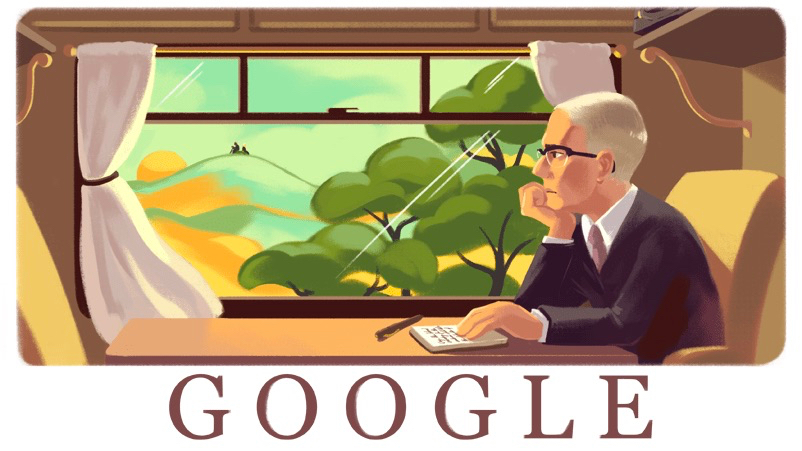 Google Doodle: Alan Paton, South African anti-apartheid author and activist, is honored.