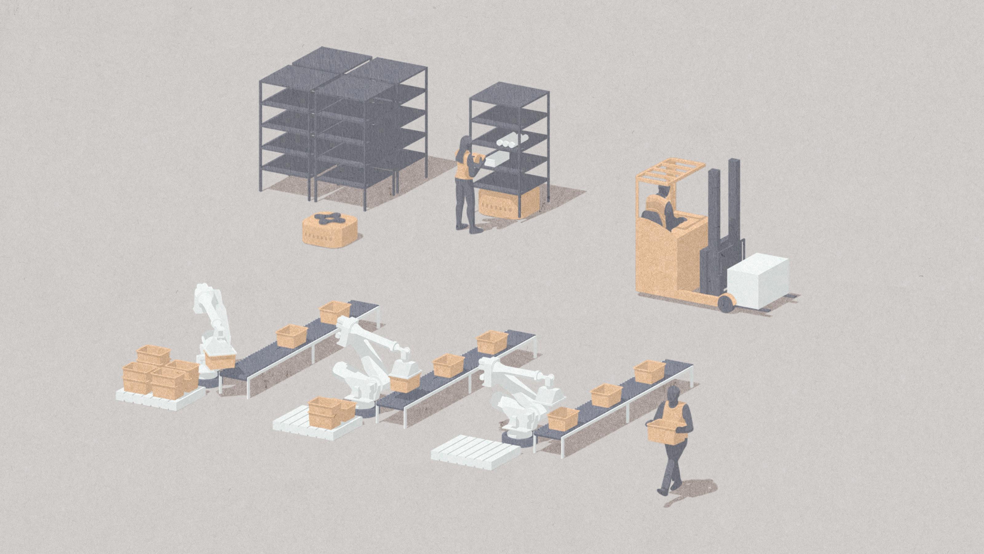 Amazon built its hyper efficient warehouses by embracing chaos — Quartz
