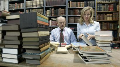 Obit Strand Bookstore Owner Fred Bass
