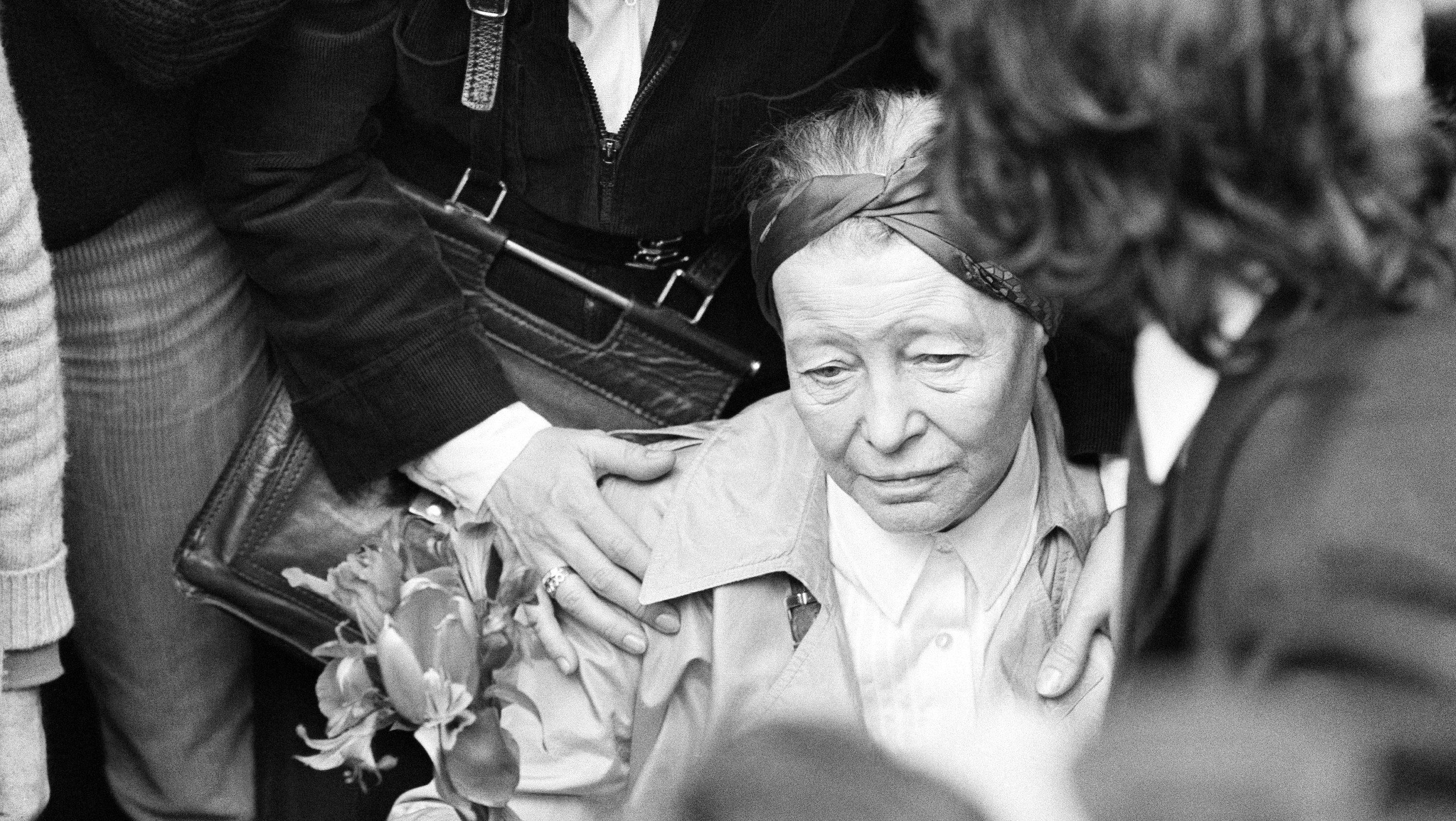Simone De Beauvoir U2019s Lover Claude Lanzmann Has Sold 112