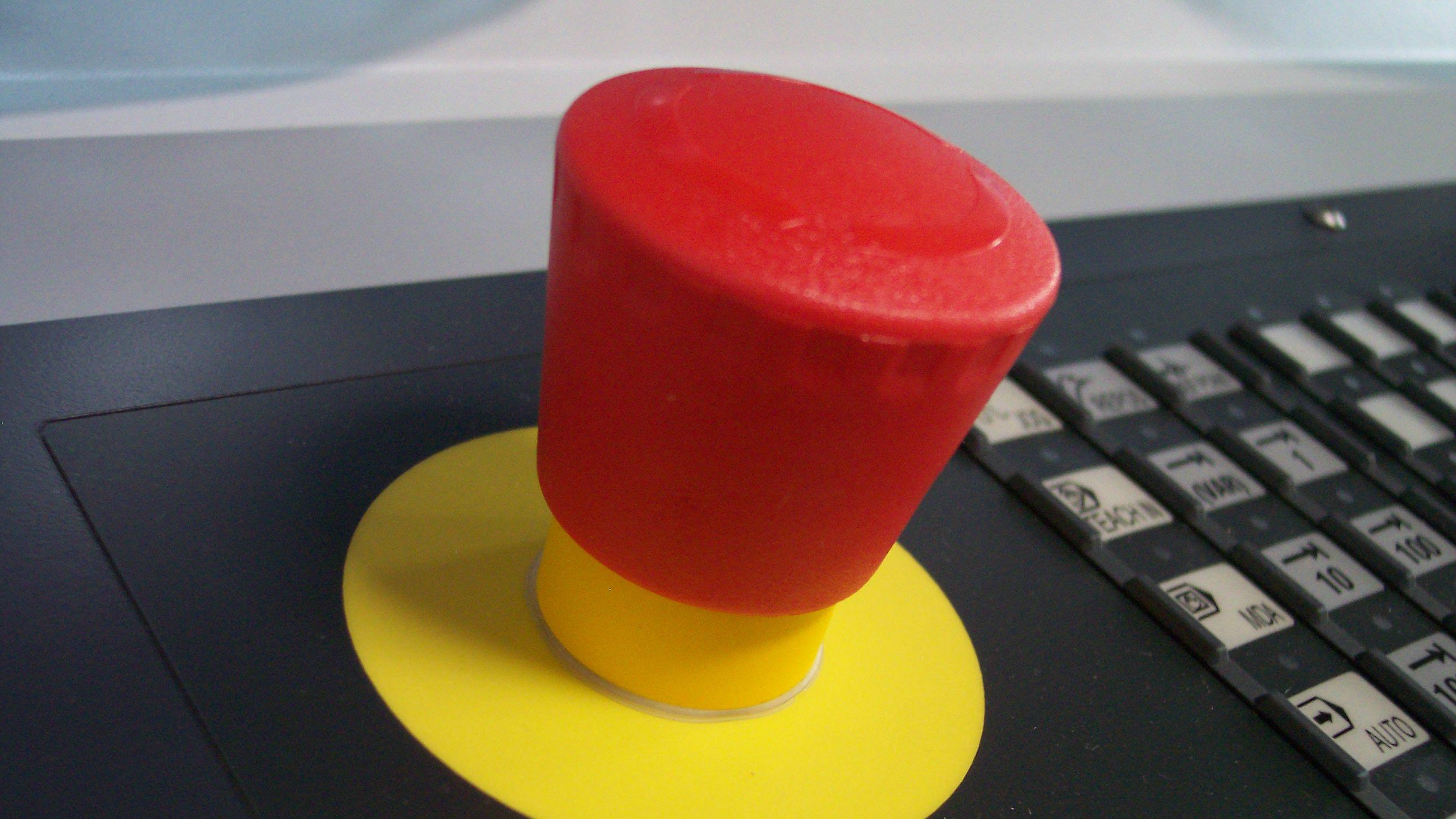 The big red button — Quartz Obsession — Quartz