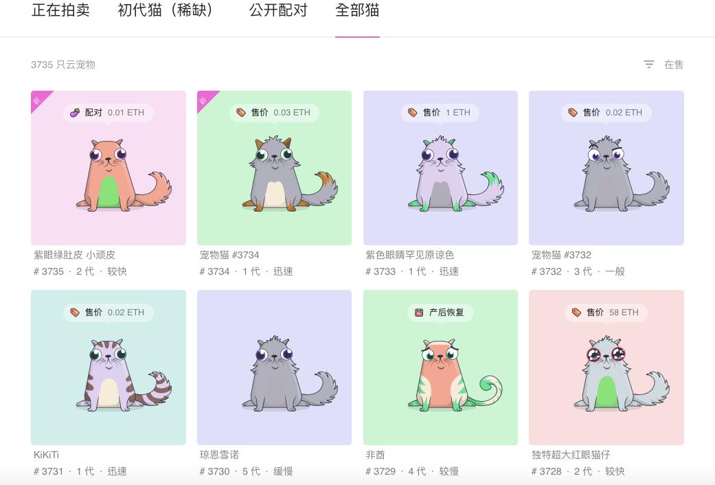全部猫_-_云宠商店_-_宠物链