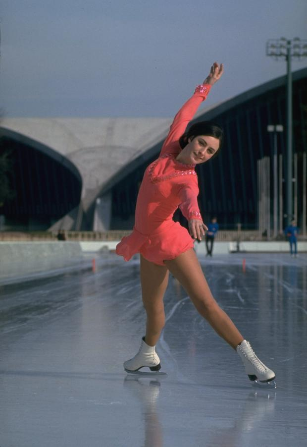 8c37af34a6 Olympics 2018  Figure-skating costumes over a century