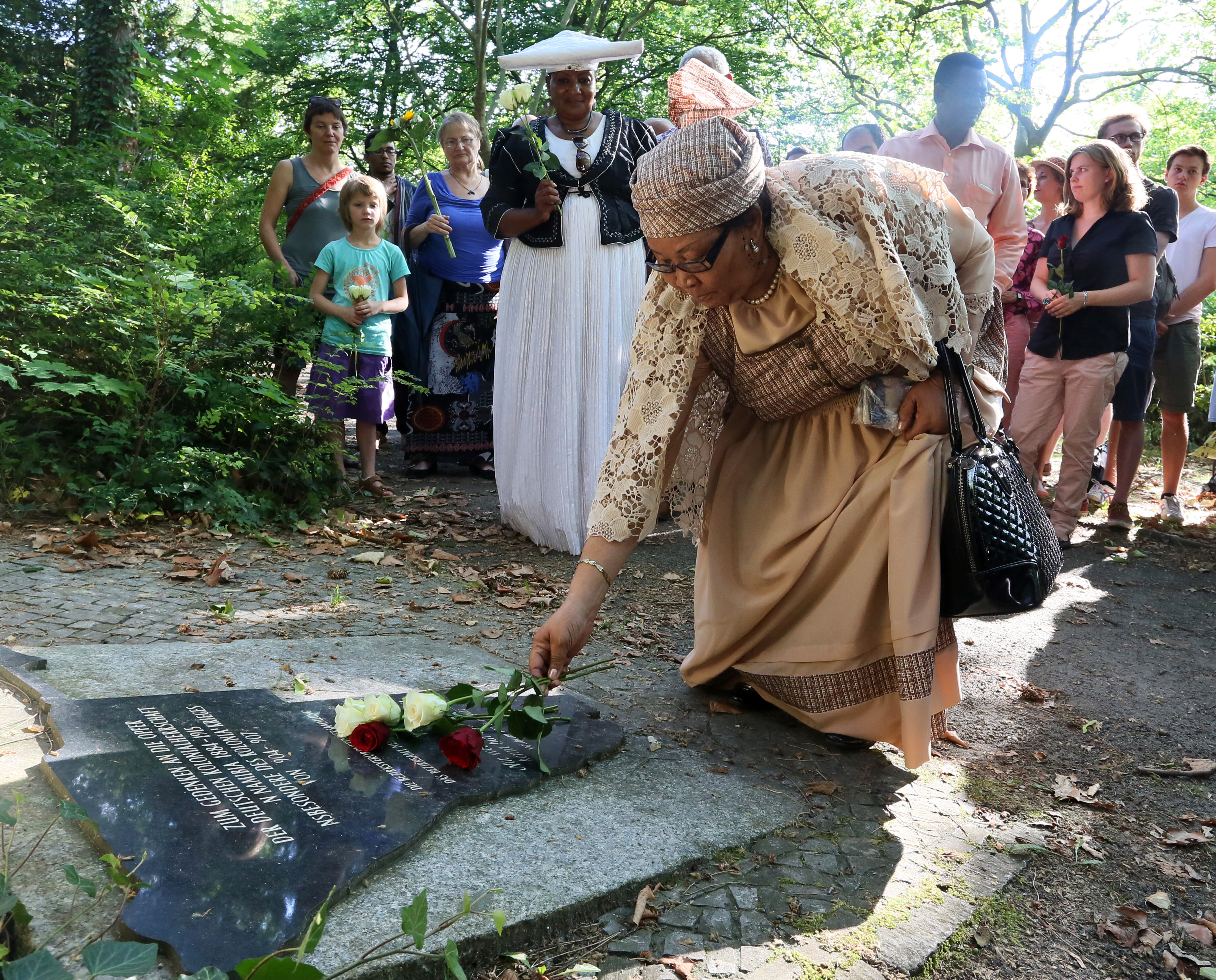 Commemoration of victims of German colonial rule