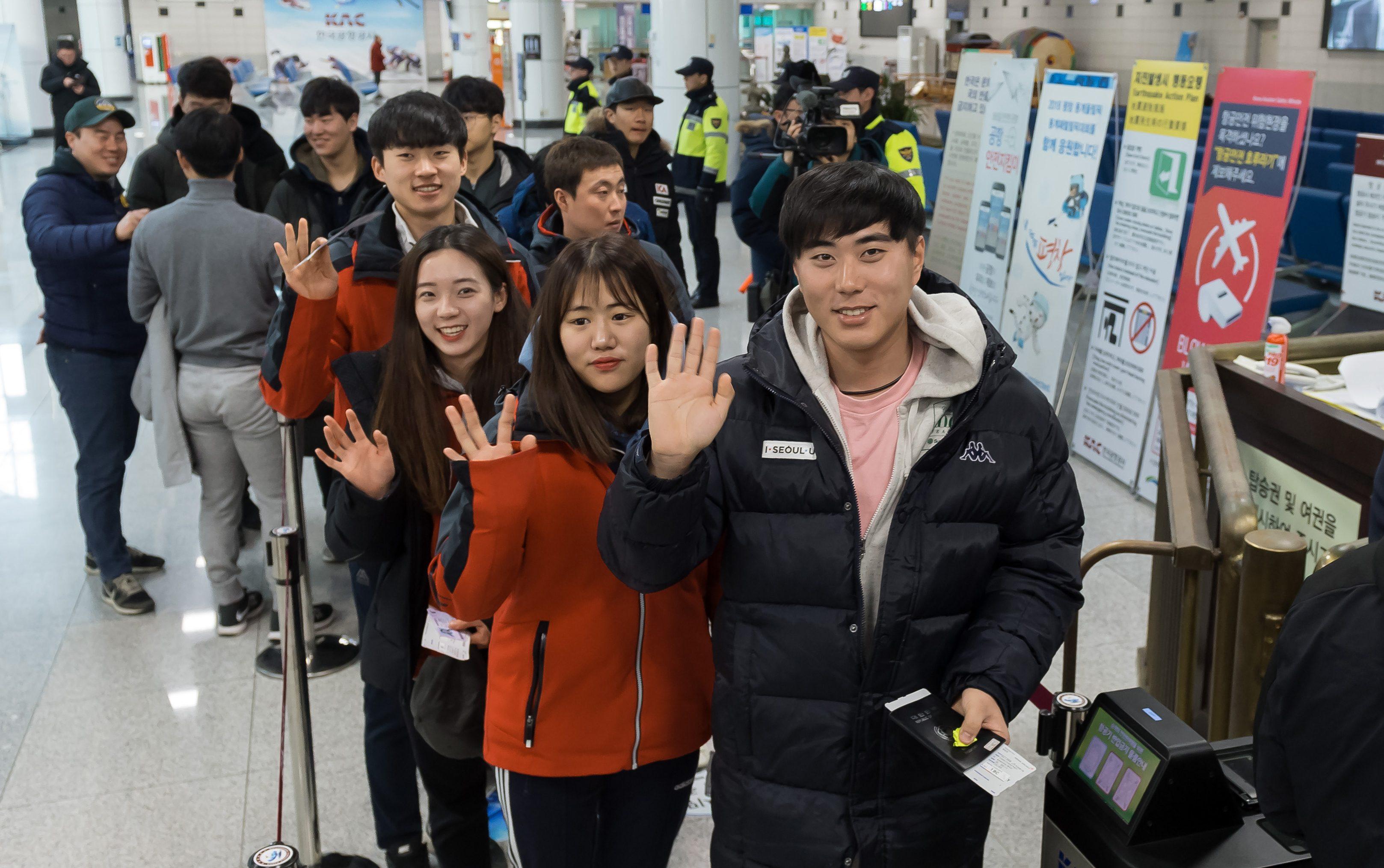South Korea's skiers head to Masikryong Ski Resort in North Korea