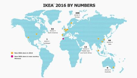 Ingvar Kamprad and his IKEA empire: Nine intriguing facts ... on world map retail store, world map decor, world map canvas ikea, world map medieval times,