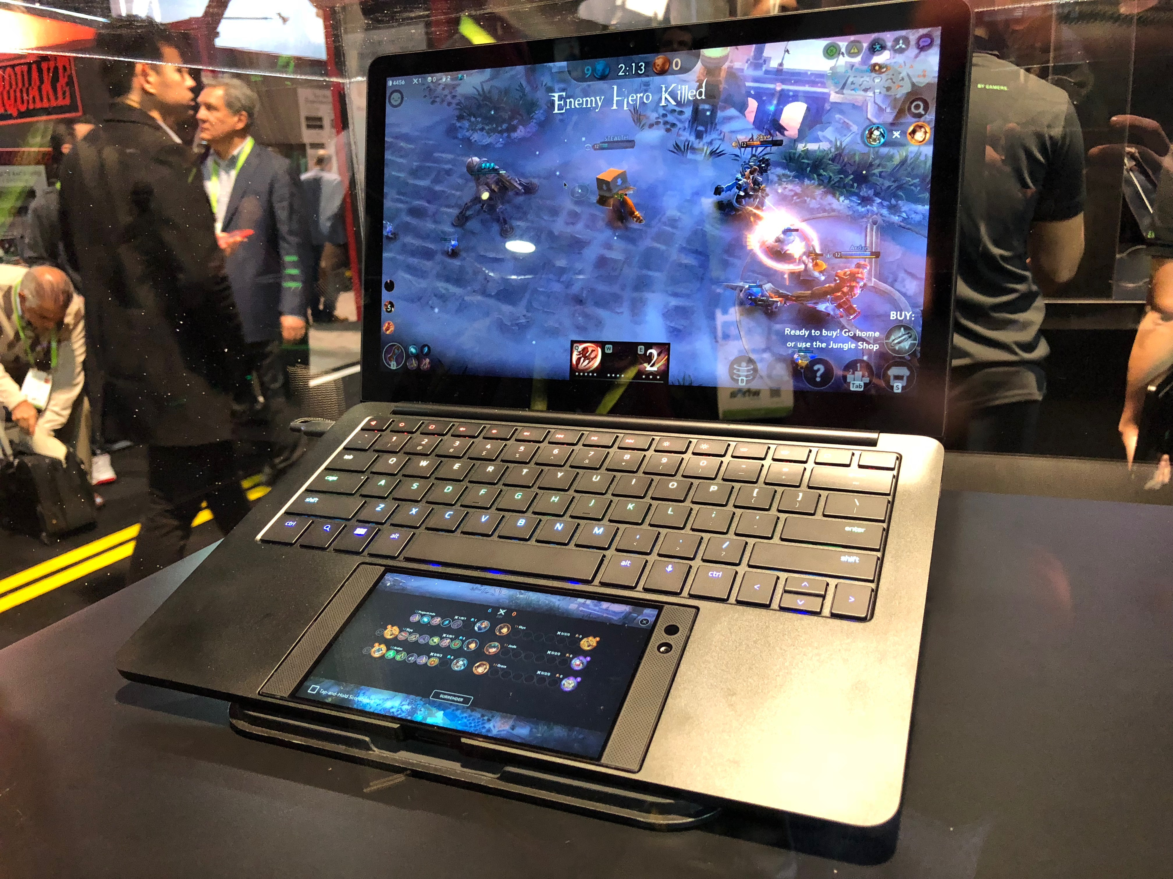 Razer wants its smartphone to be a laptop