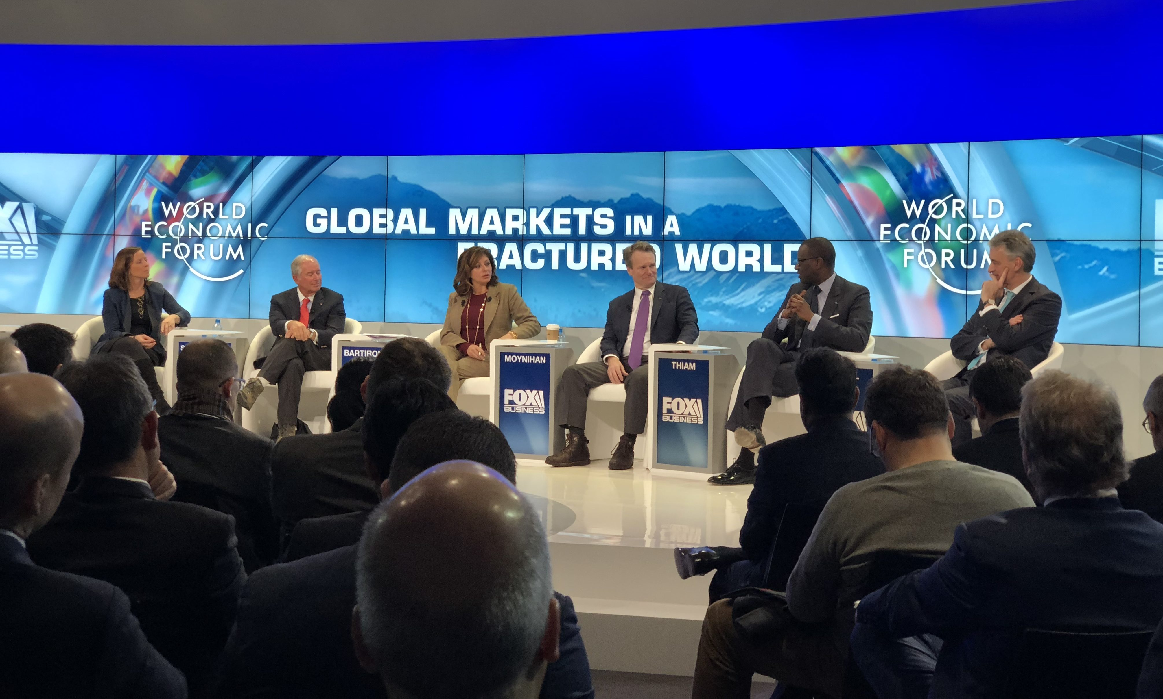 Davos global markets panel 2018