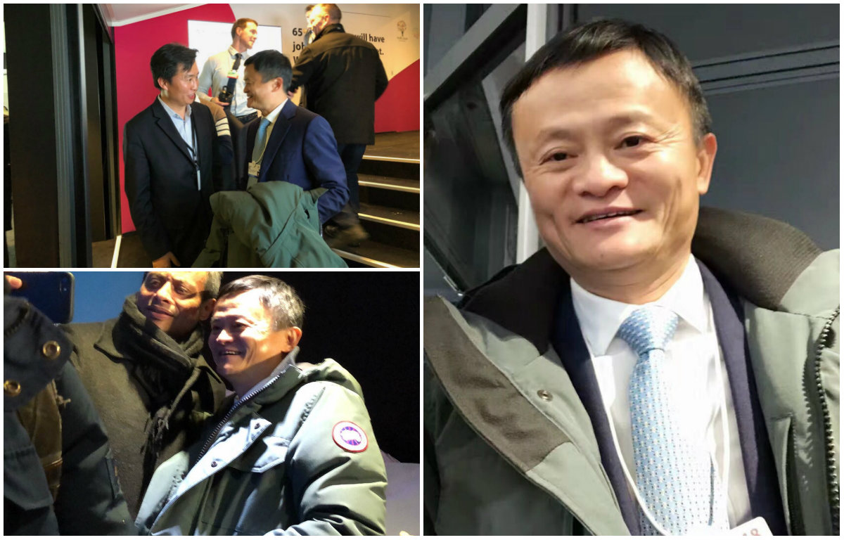 Davos 2018 Alibaba S Jack Ma Is Wearing A Canada Goose Women S