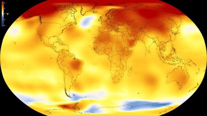 climate change nasa ranks 2017 the second hottest year on earth