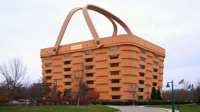 Basket-shaped building in Ohio is sold  — Quartzy