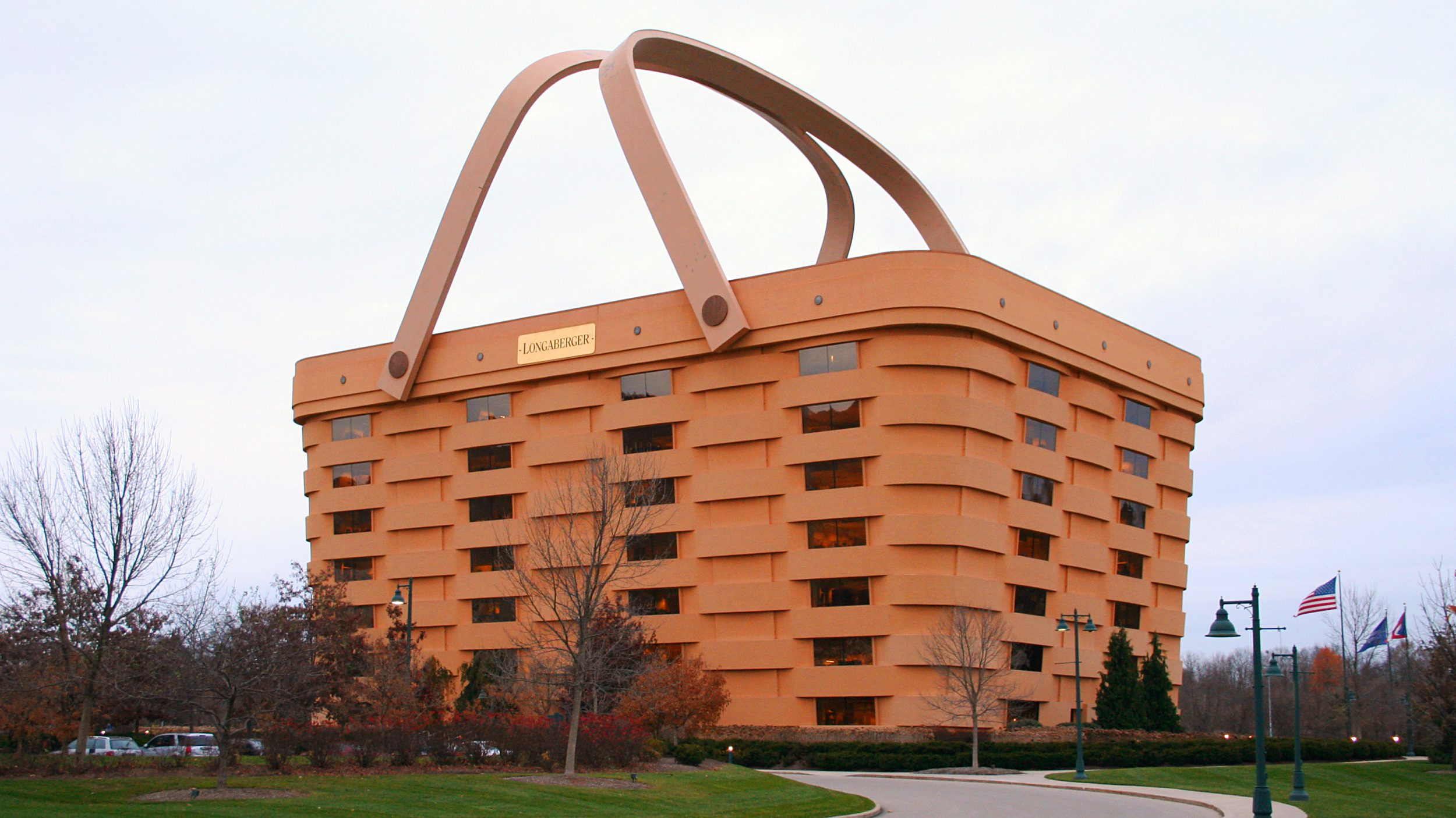Delightful Basket Shaped Building In Ohio Is Sold. U2014 Quartzy