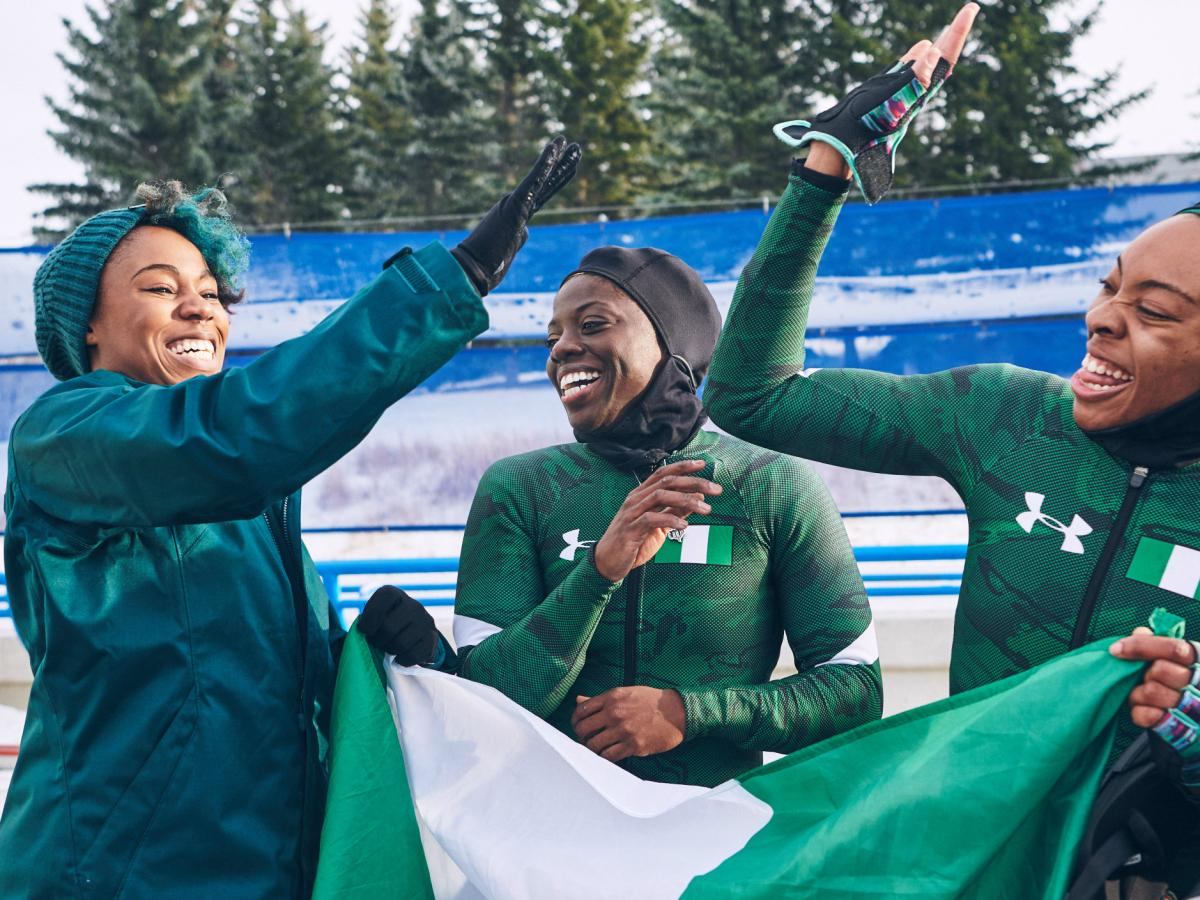 Nigeria bobsled team makes history at Winter Olympics with Under