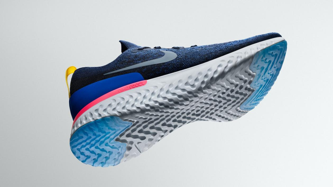 Nike. The latest in insanely comfortable shoe ... 94d272ebf