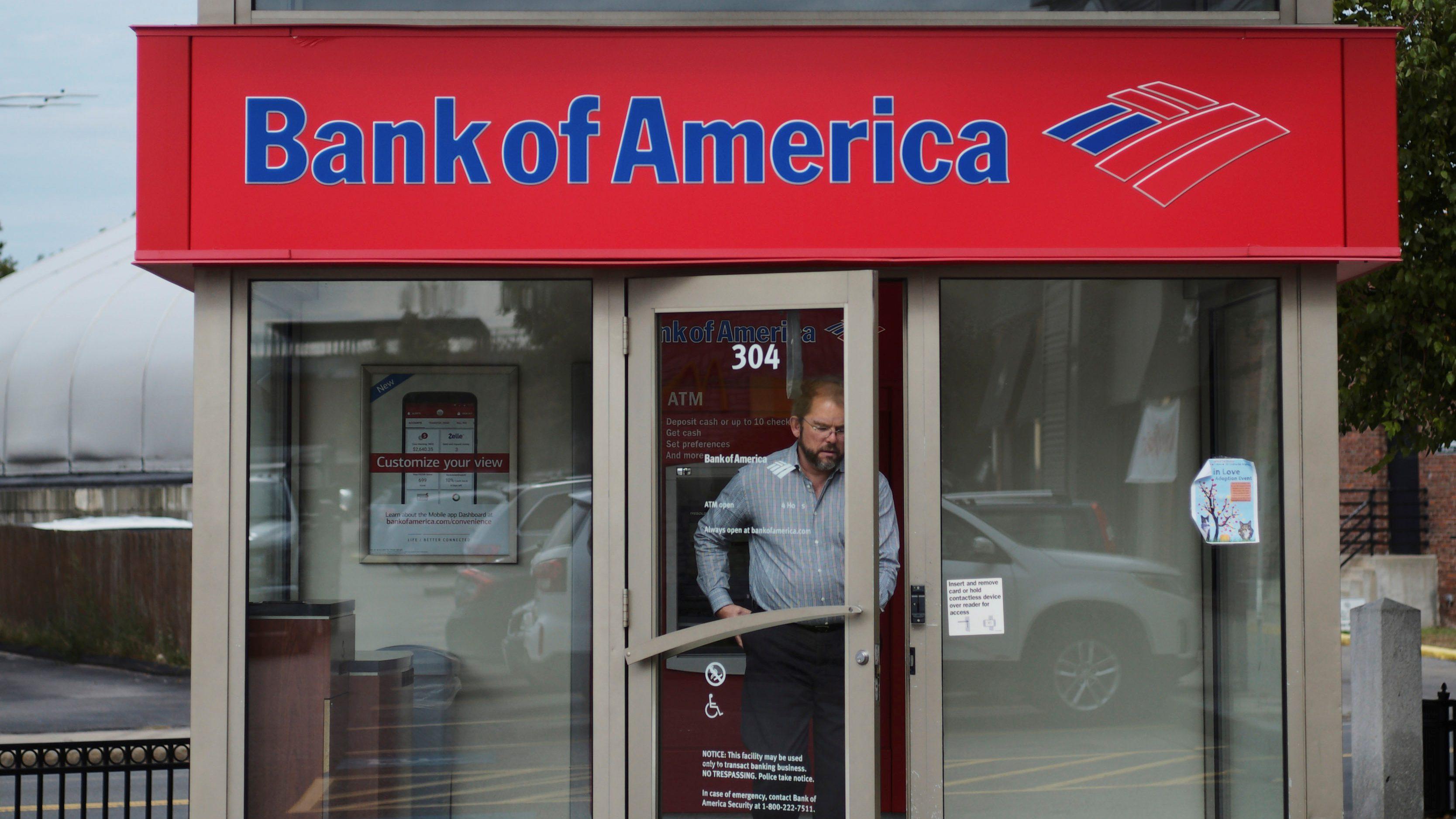 Bank of america open in boston