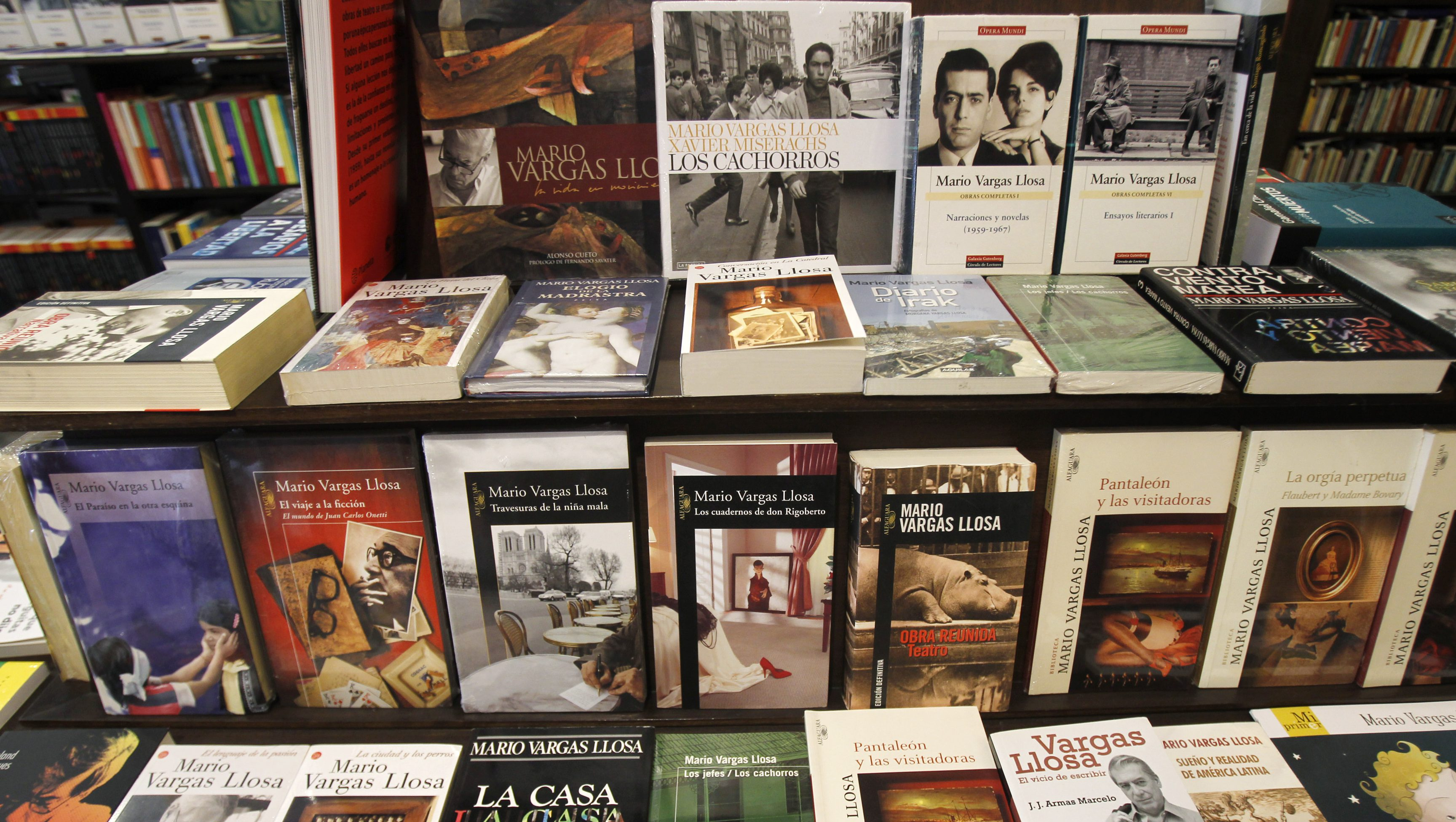 books by Mario Vargas Llosa