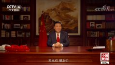 Xi Jinping new year speech