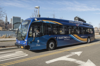 nyc electric buses