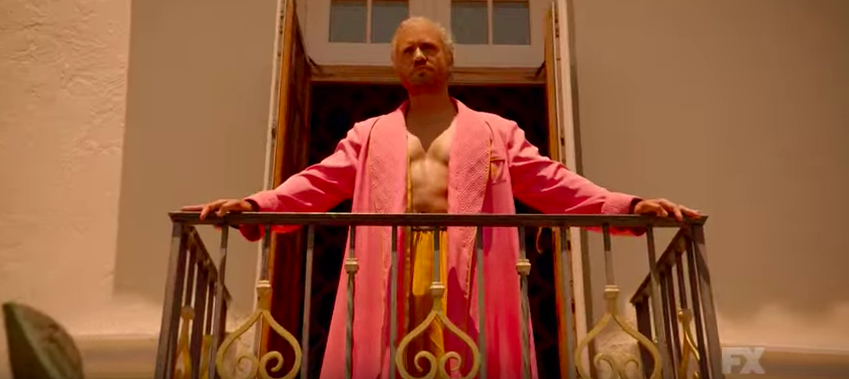 """Édgar Ramírez as Gianni Versace in """"Assassination of Gianni Versace: American Crime Story."""""""